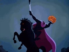 New trending GIF on Giphy. disney halloween sleepy hollow disney animation various tv halloween ichabod crane walt disney pictures the adventures of ichabod and mr toad headless horseman. Retro Halloween, Disney Halloween, Halloween Quotes, Halloween Pictures, Halloween Horror, Fall Halloween, Happy Halloween Gif, Creepy Disney, Halloween Stuff