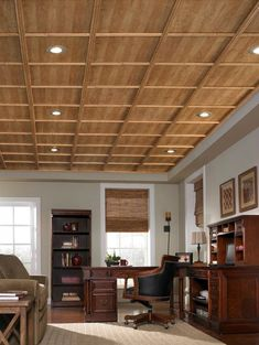 ideas for lanai ceiling | Dropped ceiling, Ceiling, Bamboo ...