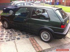 VW MK2 GOLF VR6 OAK GREEN /86000.MI #vwvolkswagen #golf #forsale #unitedkingdom