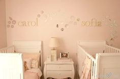Shared Toddler and Baby Nursery