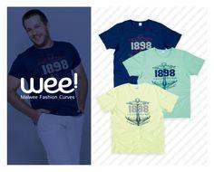 As camisetas com estampas no estilo navy estão super em alta para eles! #fashion #navy #modaparaeles #OOTD