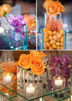 lavender-orange-wedding-theme.001 - Wedding Ideas, Wedding Trends, and Wedding Galleries