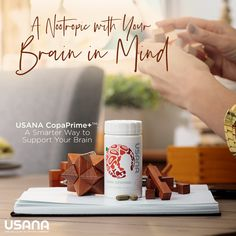 Who else will be watching tomorrow's episode of The Dr. Oz Show? USANA's Chief Science Officer Dr. Rob Sinnott will be making an appearance to talk about our newest nootropic supplement, CopaPrime+! Tag a friend to remind them to tune in! Check our BIO. Usana Vitamins, Brain Boosting Foods, Brain Nutrition, Brain Supplements, Brain Food, Healthy Brain, Enhancement Pills, Healthy Aging, Mindfulness