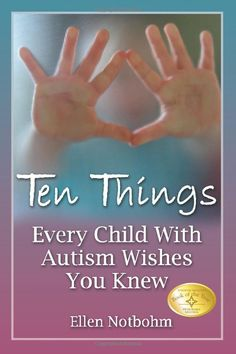 A MUST READ for anyone who loves an autistic child, teaches autistic children, or are just curious.