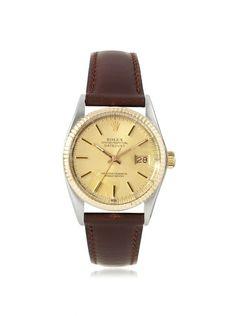 Rolex Men's Datejust Brown/Champagne Leather Watch, http://www.myhabit.com/redirect/ref=qd_sw_dp_pi_li?url=http%3A%2F%2Fwww.myhabit.com%2F%3F%23page%3Dd%26dept%3Dwomen%26sale%3DA3R72S6RCWPY2N%26asin%3DB00G2XLJKY%26cAsin%3DB00G2XLJKY