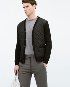 ZARA - NEW THIS WEEK - Combined cardigan