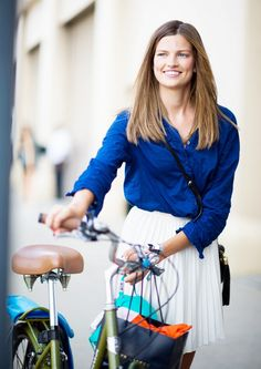 In need of a stylish bike ride? Try this.
