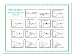 How to Draw: One-Point Perspective Cityscape (Freebie)