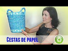 Ángel navideño reciclando hojas de papel periódico y revistas - Christmas angel recycling newspaper - YouTube