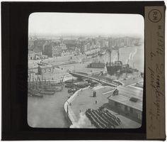 [Plaque de verre du fonds Colbert | EHNE]  Le port de Dunkerque