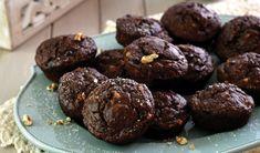 Sjokolademuffins met jogurt Scones, Smoothies, Muffins, Recipies, Healthy Eating, Cupcakes, Meet, Bread, Cookies