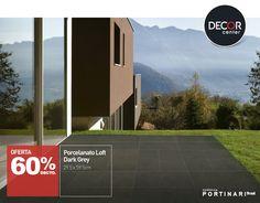 El porcelanato Loft dark Grey de Portinari, es de uso de pared y pisos, tiene un color gris oscuro muy elegante que permite generar contrastes y remarcar espacios importantes.