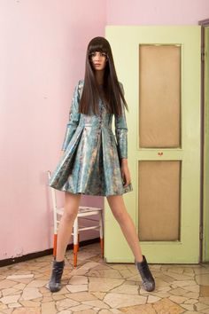 #fashion #lookbook #sequins #lace #madeinitaly #collection #alcoolique #newbrand #partydress #italy #runway #lovefashion #dress #skirt #shirt #colorful #moda #designer #emergingdesigner #sexygirl #longlegs #model #beautiful #winter #flowers #stripes #70style #70 #oldhouse