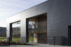 Nightingale associates. Ysbyty Aneurin Bevan Hospital. EQUITONE facade materials. equitone.com