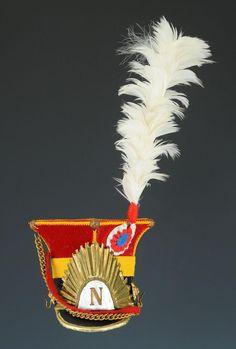 Chapska dei lancieri rossi del 2 rgt. lancieri olandesi della guardia imperiale