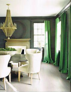 #excll #дизайнинтерьера #решения С зеленым цветом лучше останавливать свой выбор на теплых его оттенках. Зеленый цвет освежает, помогает в сохранении бодрости. Например, если вы собираетесь садиться на диету и постоянно заниматься спортом, то зеленый цвет в вашем интерьере окажет вам несказанную помощь в этом.