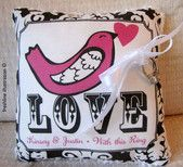 Love and wedding pillows