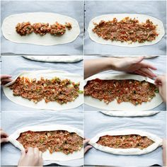 Pide Recipe, Turkish Kitchen, Cooking Recipes, Healthy Recipes, Pizza, Middle Eastern Recipes, Turkish Recipes, World Recipes, International Recipes
