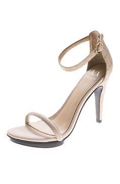 Strappy Platform Sandal. Armani Exchange
