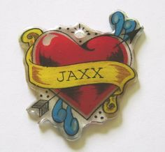 Tattoo for my Grandson Jaxx......(but he's only 3 months old )  :-)