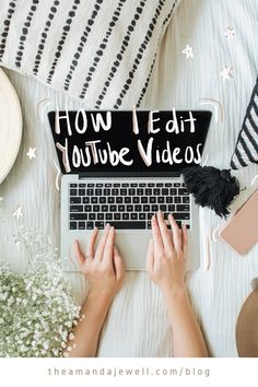How To Manifest — Amanda Jewell Youtube Hacks, Intro Youtube, You Youtube, Youtube Logo, Start Youtube Channel, How To Start Vlogging Youtube, Youtube Editing, Video Editing, First Youtube Video Ideas