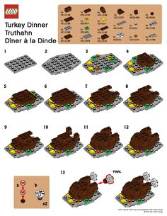 November 2010 Mini Build---Turkey  &  uk version Fireplace
