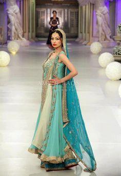 ASIFA & Nabeel Pantene Bridal Couture Week '13