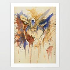 Garrus Vakarian Art Print