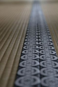 Japan - Tatami floor mat edge banding