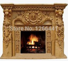 deluxe fireplace European style wooden mantel plus electric fireplace insert firebox burner artificial LED optical flame-in Fireplaces from Home Improvement on AliExpress Marble Fireplace Mantel, Wooden Mantel, Stove Fireplace, Marble Fireplaces, Fireplace Inserts, Fireplace Surrounds, Electric Fireplace Insert