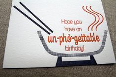 Puns are a welcome addition to any birthday card.