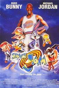 Space Jam. The reason why Lebron James would NEVER be better than Michael Jordan.