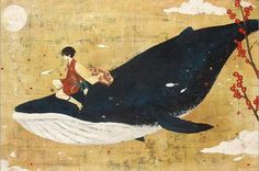 The boy and the whale.