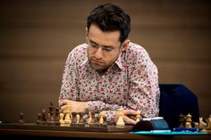 The leader of the Armenian men's chess team Levon Aronian, who occupies the second position in the FIDE ranking list, played draw in the match against the former world champion Viswanathan Anand. Armenian Men, Chess Players, Game, Random, Gingham, Gaming, Toy, Casual