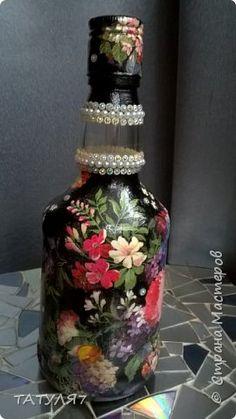 Бутылка сделана в подарок и уже ушла к свое хозяйке. фото 16