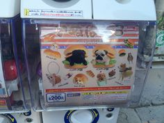 gachapon vending machines for doggy bread #pugs