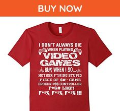 Mens Funny I'm A Gamer Shirt Gift Gaming I Love Video Games Shirt 2XL Cranberry - Gamer shirts (*Amazon Partner-Link)