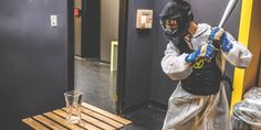 Break A Plate Or Two At Toronto's New Rage Room