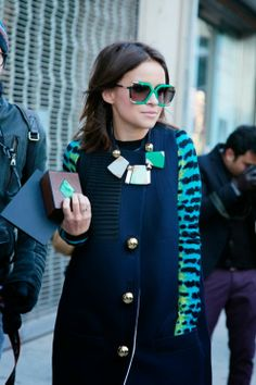 Miroslava Duma on my blog ----> Passion Of Willing, gafas o collar, con qué te quedas??