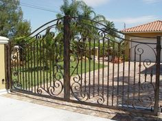 Image result for driveway gates metal