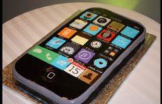 Groom's Cake: iPhone