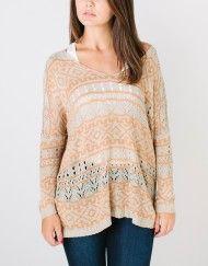 Karin Tribal Sweater