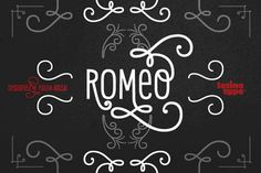 romeo by Latinotype #typography #fonts