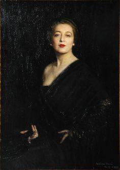 Arturo Noci Portrait of Mrs Cosmo Hamilton
