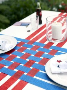 Table design, perhaps in themed coors