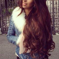 auburn curls