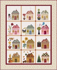 Country Cottages Quilt Kit