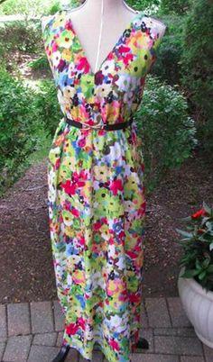 Triangle Maxi Dress FREE Sewing Pattern