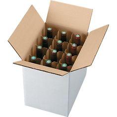 Caisse standard pour 12 bouteilles
