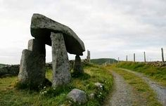Legananny Dolmen...CS Lewis Giants, stone tables, wall murals and bronze searcher memorial pictures from Northern Ireland.